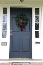 blue gray front door colors grey paint black house blue front door