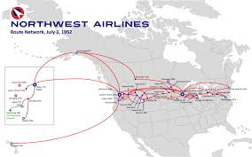 Seattle Tacoma Airport Map Northwest Airlines Route Map Yahoo Image Search Results