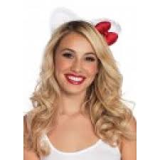 hello kitty lace cat ear headband cosplay halloween costume ears