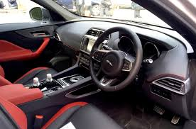 jaguar cars interior jaguar f pace review