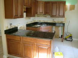 Cherry Kitchen Cabinets With Granite Countertops White Kitchen Cupboards With Granite Tops Impressive Home Design
