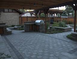 Paver Patio Pictures Gallery Landscaping Network - Backyard paver designs