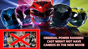 original power rangers cast might not have cameos in the new movie