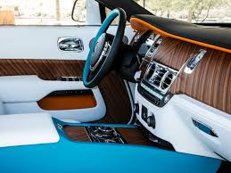 rolls royce blue interior rolls royce dawn palm springs collection is a beauty