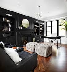 ultra modern office furniture home office transitional with black