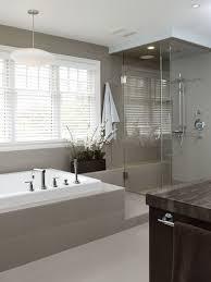 Modern Gray Tile Bathroom Modern Gray Tile Bathroom Room Design Ideas