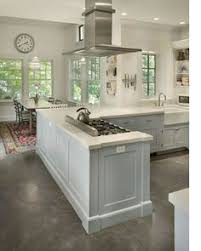 Concrete Kitchen Floor by The Variation In These Burnished Concrete Floors Comes From The