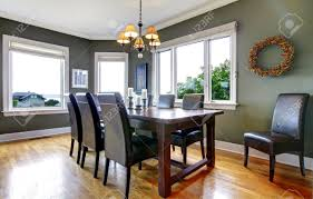 Kitchen And Dining Room Ideas Stock Photos Royalty Free Kitchen - Dining room windows