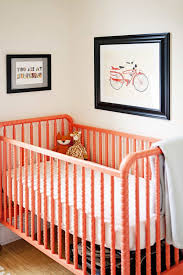 baby nursery with peach baby crib painting your baby crib