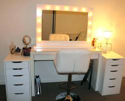 professional makeup light professional makeup table lighted desk inside tables with lights