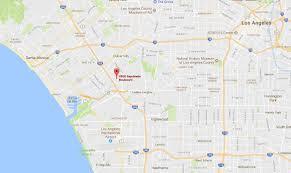 Culver City Map Location Culver Vista Motel