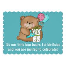 teddy bear birthday invitations u0026 announcements zazzle