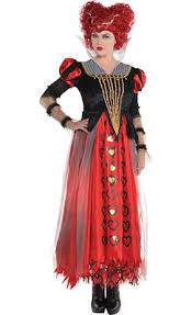 Queen Spades Halloween Costume Queen Hearts Costume Party
