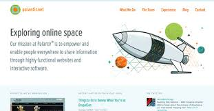 Home Design Interactive Website How To Grab Attention With Your Website Home Page Introduction