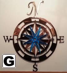 Metal Wall Decoration Superior Iron Artz Compass Rose Wall Art