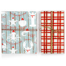 reversible christmas wrapping paper christmas reversible roll wrap