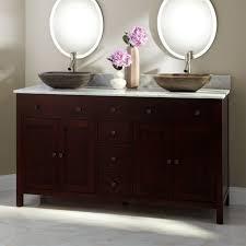 Bathroom Enchanting Dark Bathroom Vanity Cabinet With Double - Bathroom vanity for vessel sink 2