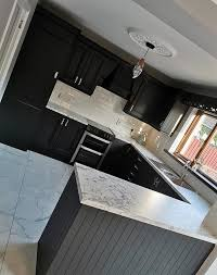 can you paint b q kitchen cabinets to be transforms drab kitchen with frenchic paint b q