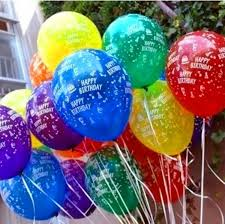 helium birthday balloons free ship 12inch birthday party decoration ballons