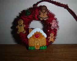gingerbread ornament etsy