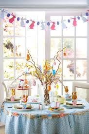 Easter Decorating Ideas Table Setting by Benedetina Decorate A Easter Spring Party Table