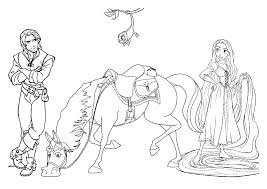 rapunzel coloring pages to print free rapunzel coloring page to