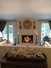 living room art picture frame pendant lighting lcd tv rustic