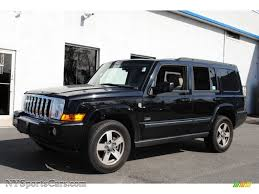 commander jeep 2008 jeep commander rocky mountain edition 4x4 in brilliant black