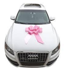 new car gift bow mavo rainbow big car bows 23 pink and large