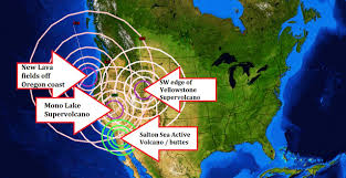 Earthquake Map Oregon by 3 1 2013 U2014 Western Us Earthquakes At Multiple Volcanic Sites