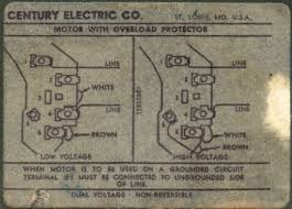 century motor wiring diagram century wiring diagrams instruction