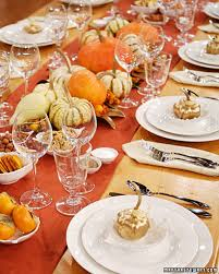 Martha Stewart Home Decorating Thanksgiving Home Decor Ideas U2013 Festive Atmosphere In Gold And
