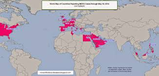 saudi arabia world map novel infectious diseases world map of the mers outbreak through
