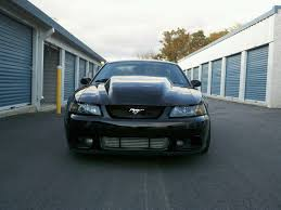 Black 2003 Mustang For Sale Turbo Terminator Single 88mm 5 4l Dohc Low Miles