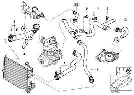 original parts for e46 330d m57 touring engine cooling system