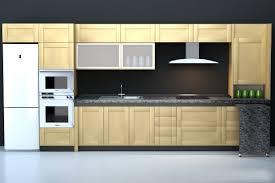 integrated modern kitchen cabinet 3d model 3dsmax 3ds wavefront