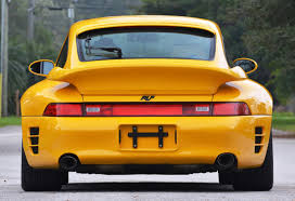 porsche ruf yellowbird 1997 ruf porsche 911 turbo r yellowbird 1