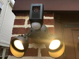 ring security light camera the ring floodlight cam is an outdoor security slam dunk techcrunch