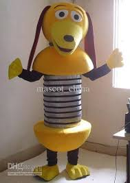 Toy Story Halloween Costumes Lovely Toy Story Slinky Dog Mascot Costumes Halloween Costume