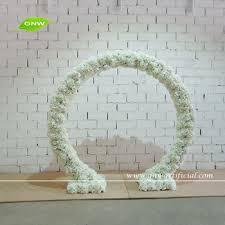 Wedding Arches Buy Gnw Wedding Stage Decoration Artificial Flower Arch White Wedding
