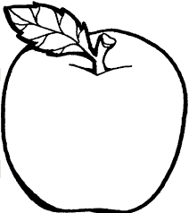 apple color page apple coloring pages free large images music