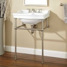 Sinks For Small Bathrooms by Cierra Console Sink With Brass Stand Bathroom