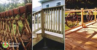 Outdoor Banisters And Railings 32 Diy Deck Railing Ideas U0026 Designs That Are Sure To Inspire You