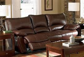 Brown Leather Recliner Sofas Recliner Sofa In Brown Leather Match Furniturendecor