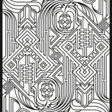 geometric patterns coloring book all about coloring pages