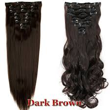 real hair extensions clip in us 100 real clip in hair extensions 8 pieces on