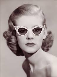 hairstyles for glasses for women in forties spectacles circa 1950 courtesy c w dixey son vintage 50s