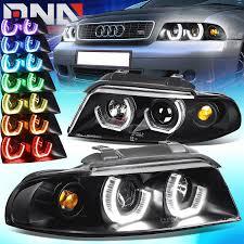 audi color changing car for 96 01 audi b5 a4 quattro black led 3d rgb color change