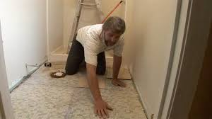 how to tile a bathroom floor today u0027s homeowner