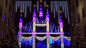 saks fifth avenue lights 2015 saks fifth avenue holiday light show youtube